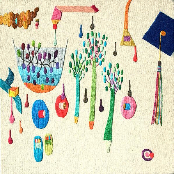 takashi iwasaki embroidery