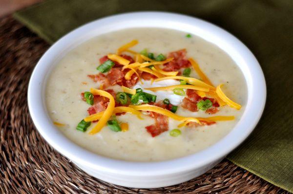 Mels Kitchen Cafe | Loaded Baked Potato Soup