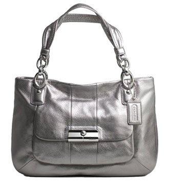 Coach Kristin Leather East West Zip Satchel Bag Purse Tote 16814