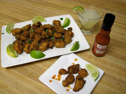 Chicharrones de Pollo - It's like someone took your Chik-Fil-A nuggets ...