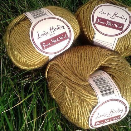 Вязание золотыми нитками 8