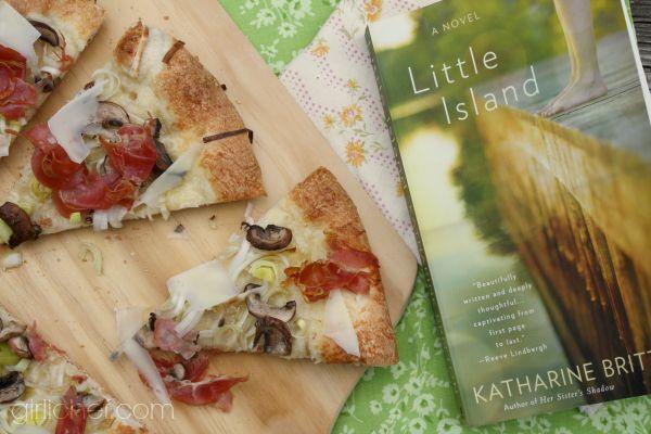 mushroom tomato flatbread pizza wild mushroom and crescenza pizza ...