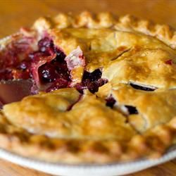 Baked Fresh Cherry Pie | Cuisine | Pinterest