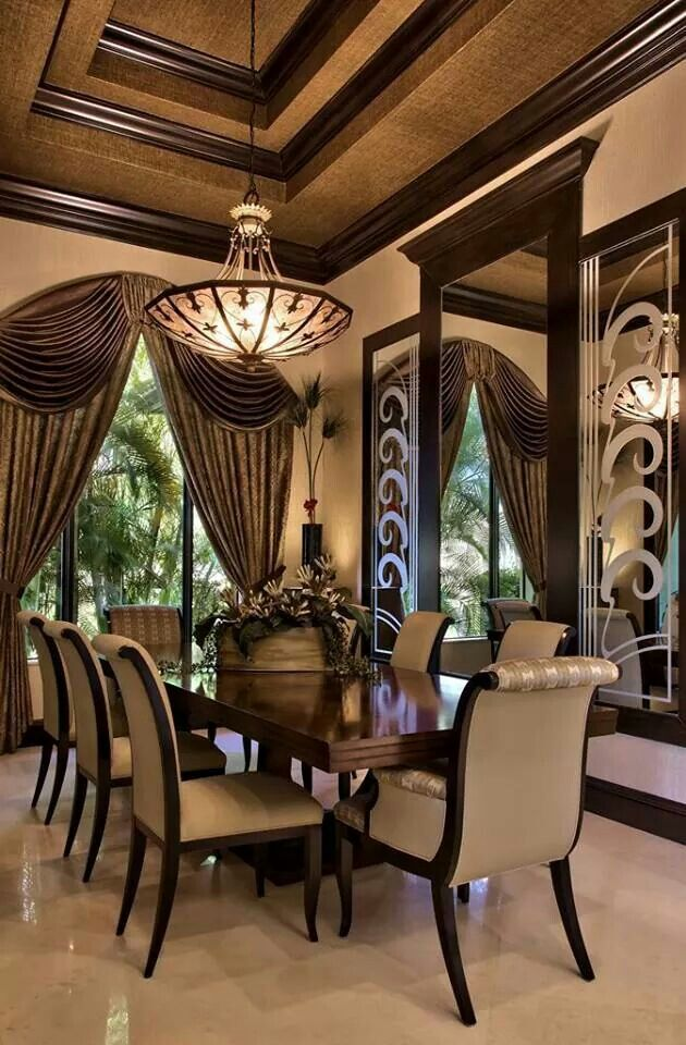 very nice dining room beautiful homes rooms pinterest