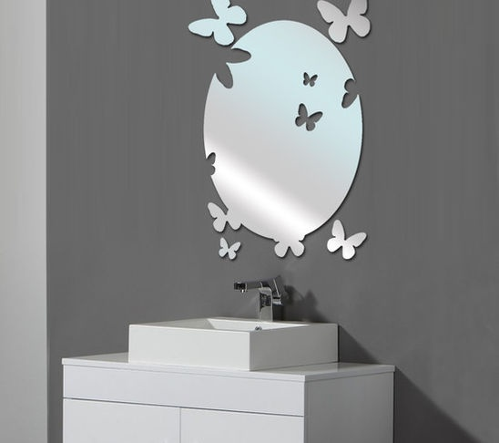 fun bathroom mirror bathroom mirrors pinterest