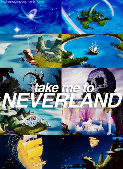 Peter Pan! Take me to Neverland!