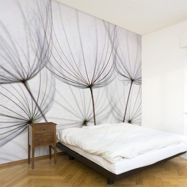 Dandelion wall mural lowes canada pinterest for Dandelion wall mural