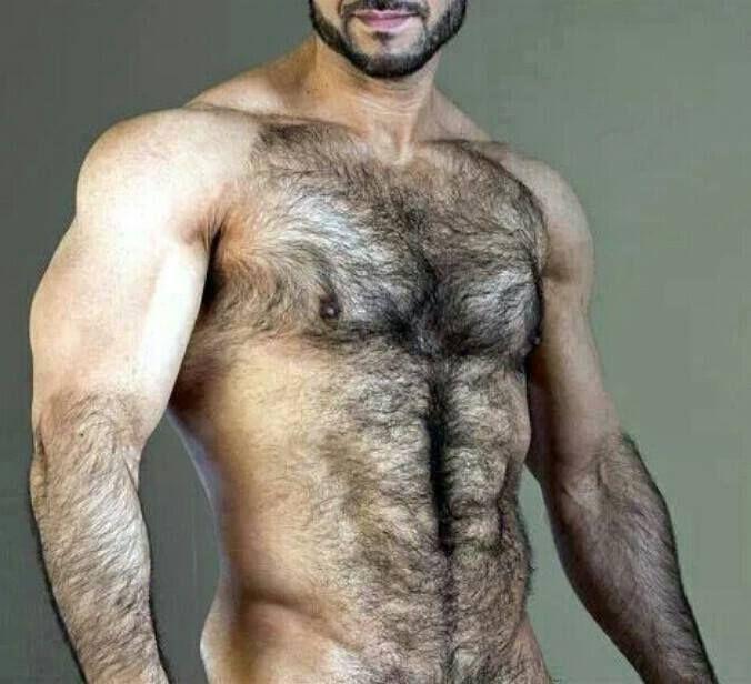 волосатые голые мужчины фото