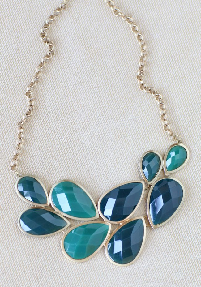 Ocean hues necklace $22.99