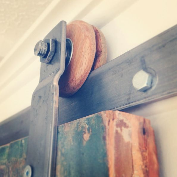 Diy do it yourself track door tutorial on how to create your own track