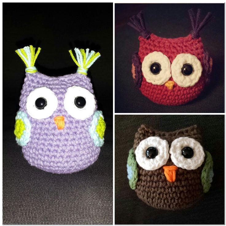 Free Amigurumi Crochet Patterns Owl : Crochet amigurumi owls - free pattern Sewing and crochet ...