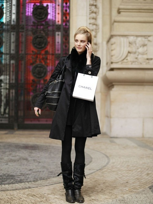 French Street Style Fashion Style French Fashion Pinterest