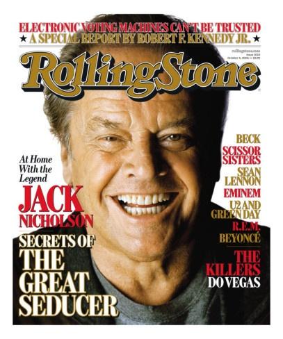 Jack Nicholson, Rollin...