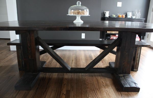 Farm table dream home pinterest for Make your own farm table