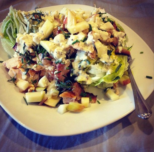 ... /chicken-wedge-salad-with-apples-walnuts-and-blue-cheese-dressing
