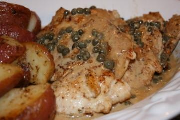 Chicken Breasts in Caper Cream Sauce | Recipe