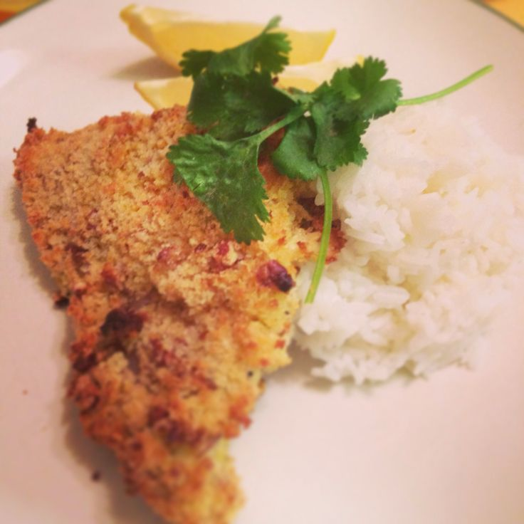 Pecan Crusted Catfish | My ChefSelf | Pinterest