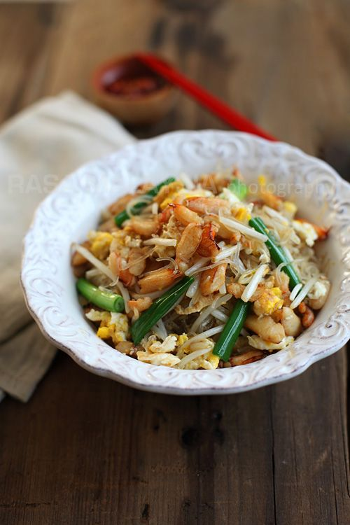Crab Noodles. Delicious! #crab #noodles #asianfood