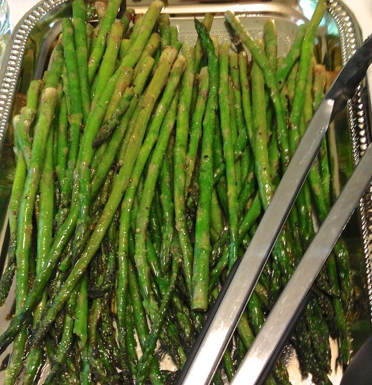 LEMON GARLIC ROASTED ASPARAGUS. | Yummy Recipes | Pinterest