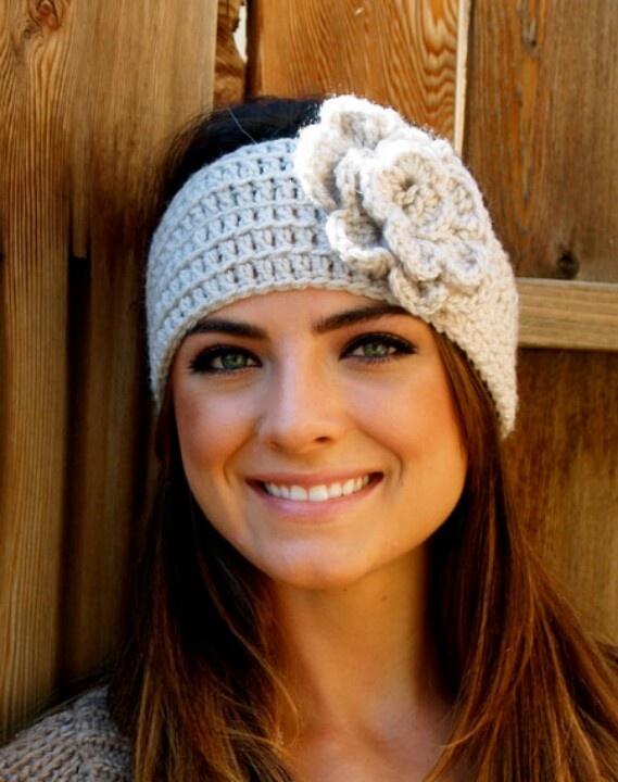Headband crochet Crochet for life Pinterest