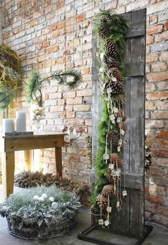 Natural Outdoor Christmas Decorations Dream Home