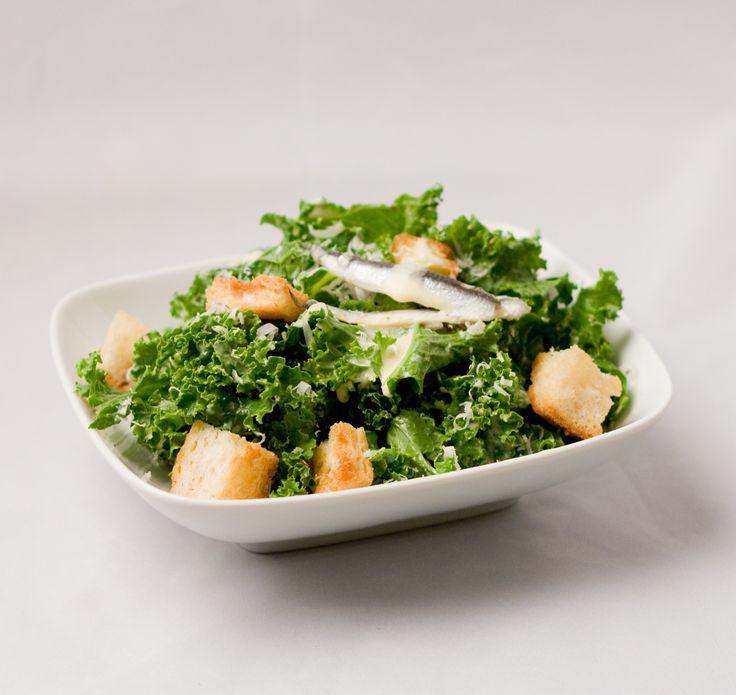 Kale Caesar Salad | Salad | Pinterest