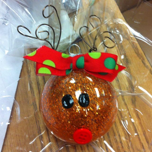 Reindeer Ornament