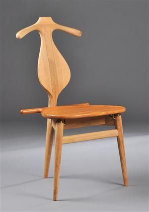 Træ hvile stol design
