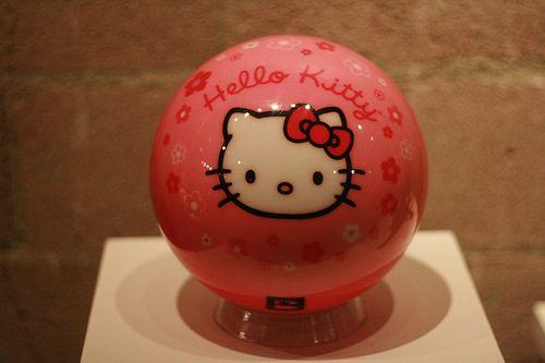 Hello Kitty Bowling Ball !  LOVE