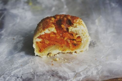 Sweet potato knishes ~ Notions & Notations of a Novice Cook