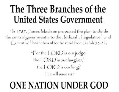 three branches government song