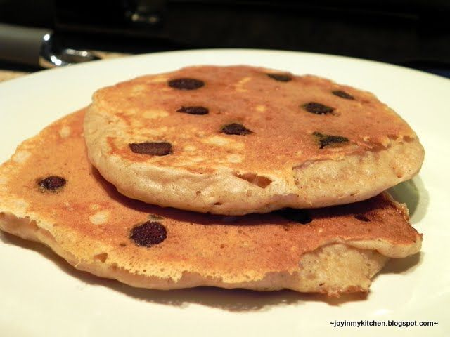 Healthier} Oatmeal Cookie Pancakes: These were okay but we like our ...