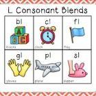Blending With Consonant Blends   L BLENDS  Bl  Cl  Fl  Gl  Pl  Sl