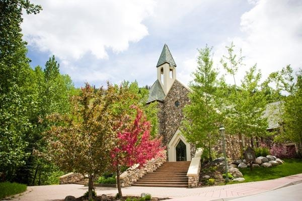 The chapel at beaver creek wedding venue boho wedding Allie s cabin beaver creek