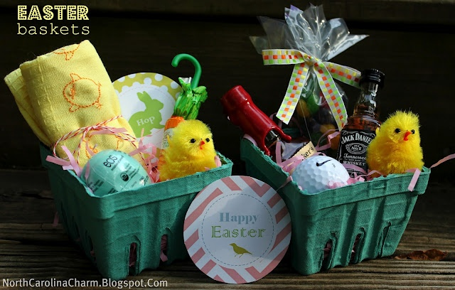 Easter Basket Ideas Holidays Easter Pinterest