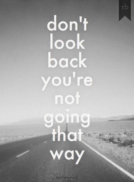 lyrics looking back over: