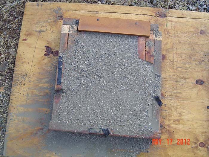 Cement Bench Support Mold Craft Ideas Pinterest