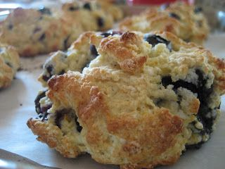 Home Cooking In Montana: Low Fat Blueberry Scones
