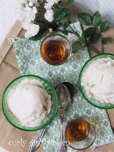 Curly Girl Kitchen: Orange Blossom Honey Cheesecake and Ice Cream ...
