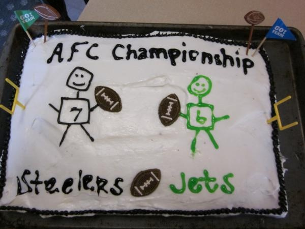 AFC Championship Cake