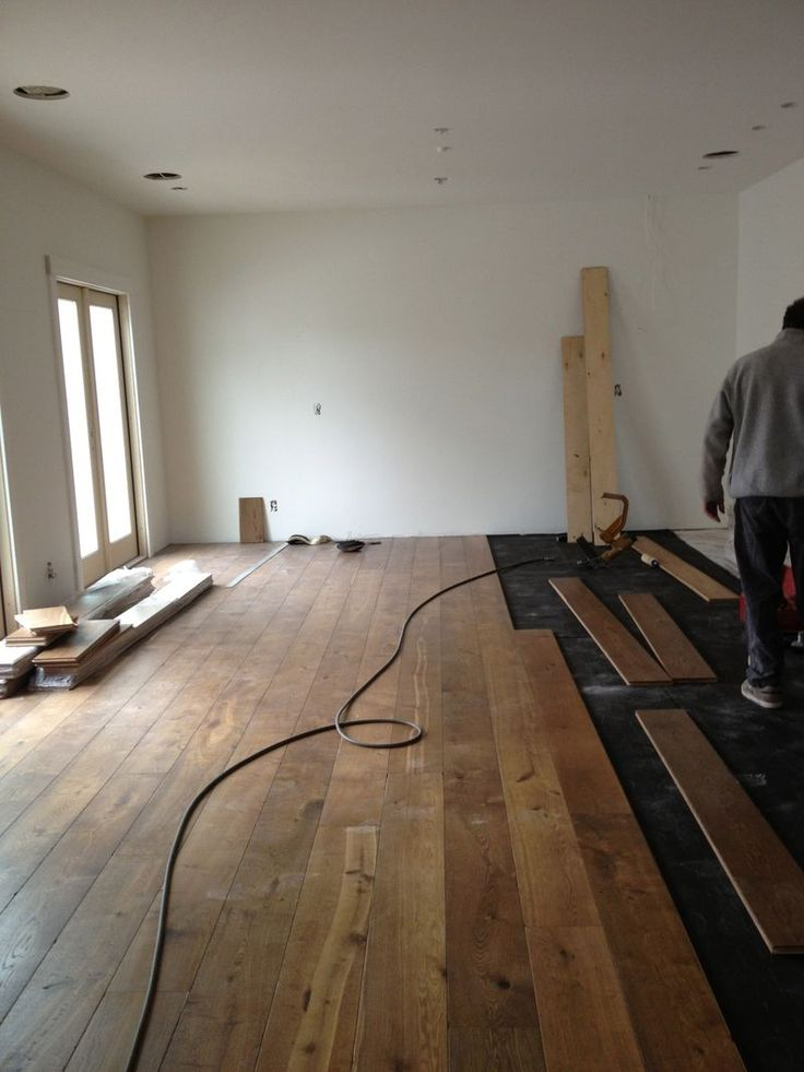 8 inch wide plank flooring flooring pinterest for Wide plank flooring
