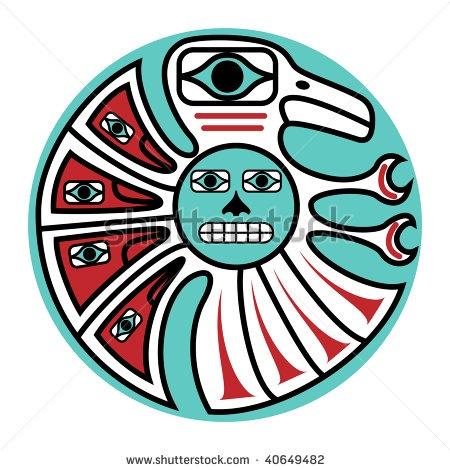 tribal arts designs | jpeg symbolic bird design in pacific northwest ...