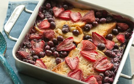 Baked Berries French Toast