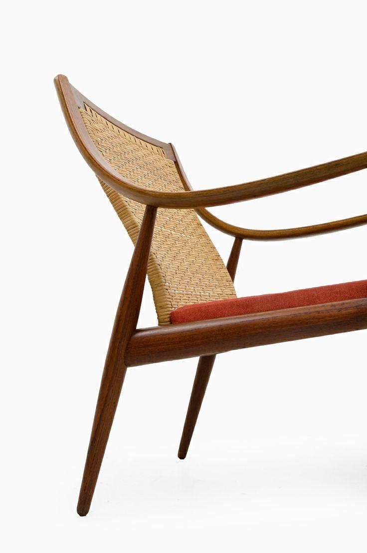 Comcane Chair Designs : Hvidt & Mølgaard Nielsen FD-146 easy chair designed by Peter Hvidt ...