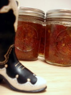 Texas Three Pepper Jam | food : JAM - JELLY - CHUTNEY | Pinterest