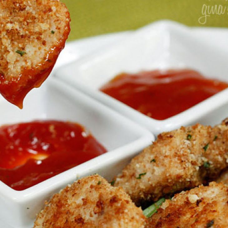 Healthy Baked Chicken Nuggets | Dinner | Pinterest