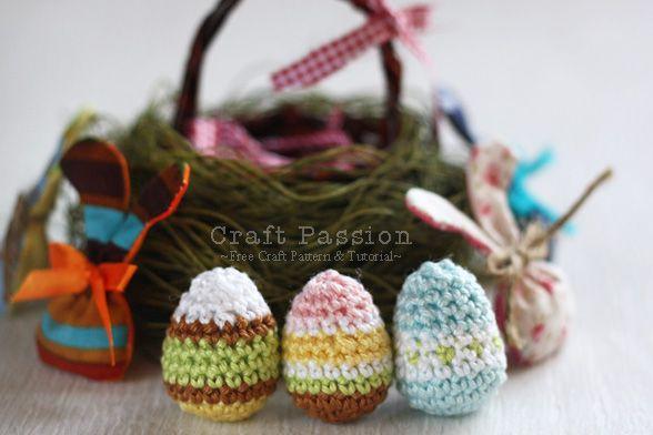 Amigurumi Easter Egg Pattern : Pin by Celia Erickson on Amigurumi Pinterest