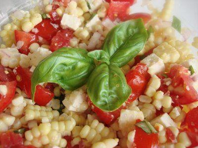 fresh sweet corn salad | Salads | Pinterest