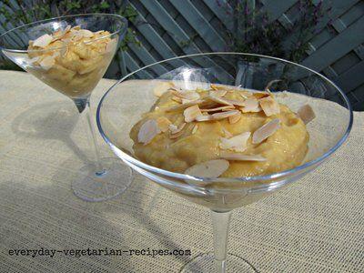 Tofu Dessert Recipe | Vegetarian | Pinterest