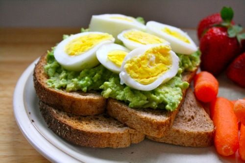 Egg and Avocado Sandwich | FIT | Pinterest